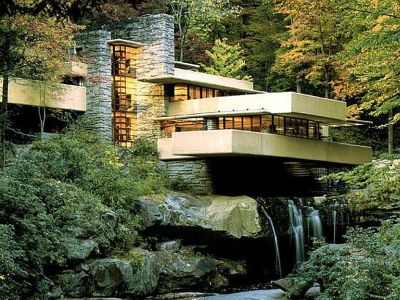 Kaufmann House 'Falling Water', Pennsylvania, USA
