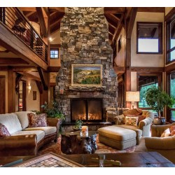 Small Crop Of Rustic Living Room