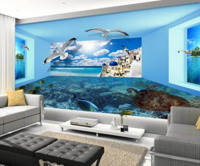 17 Fascinating 3D Wallpaper Ideas To Adorn Your Living Room