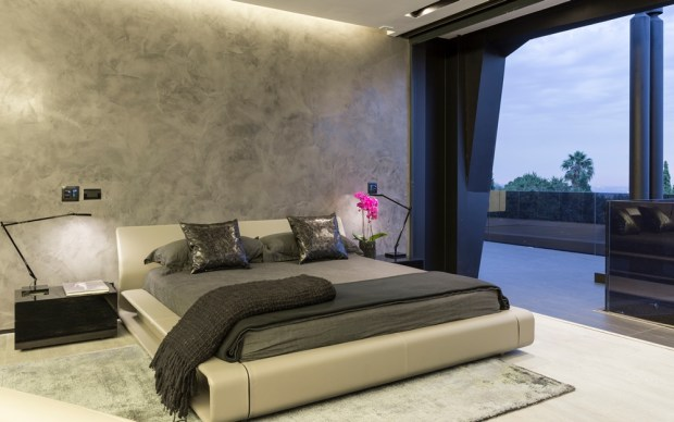 Modern bedroom in one of the best houses in the world
