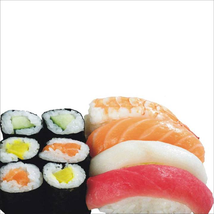 Architekt Daniel Gutmann - Tapetendesign - Sushi-Tapete für Mr. Lee
