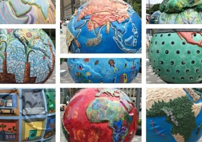 The Cool Globes of Battery Park