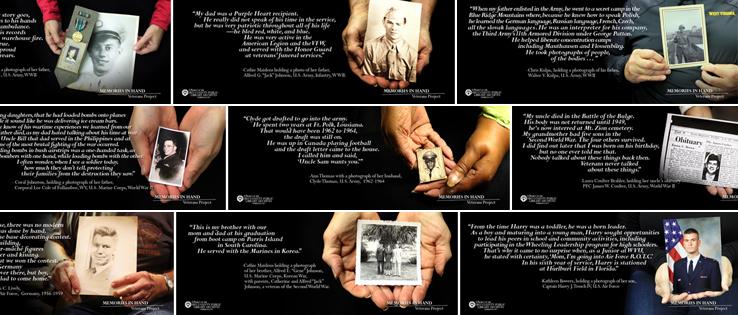 Featured Image: Memories In Hand