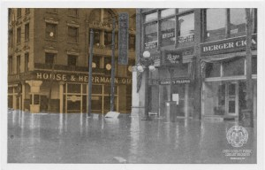 1913 flood. OCPL Archives.