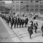 In addition to tons of motor vehicles, the Main Street Bridge has been part of the path of many Wheeling parades.
