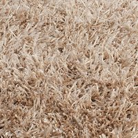Safavieh New Orleans Shag Collection SG531-1313 Handmade Beige and Beige Shag Area Rug, 8 feet by 10 feet (8' x 10')