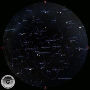 cielo del mese maggio