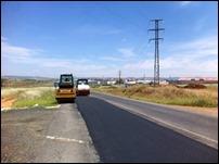 Dan comienzo en la carretera a Puertollano los trabajos de saneamiento y asfaltado que también se ejecutarán en la calle Córdoba de Argamasilla de Calatrava