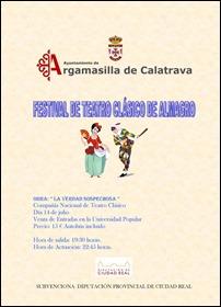 Ayuntamiento de Argamasilla de Calatrava y Diputación Provincial animan a los rabaneros a asistir al Festival Internacional de Teatro Clásico de Almagro