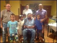 """La asociación Oasis celebra una fiesta para despedir a los niños saharauis del programa """"Vacaciones en Paz"""" de Argamasilla de Calatrava"""
