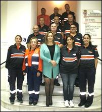 El Ayuntamiento de Argamasilla de Calatrava da la bienvenida al nuevo responsable de Protección Civil