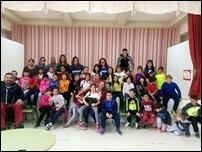 20170322 Con los alumnos de uno de los colegios participantes