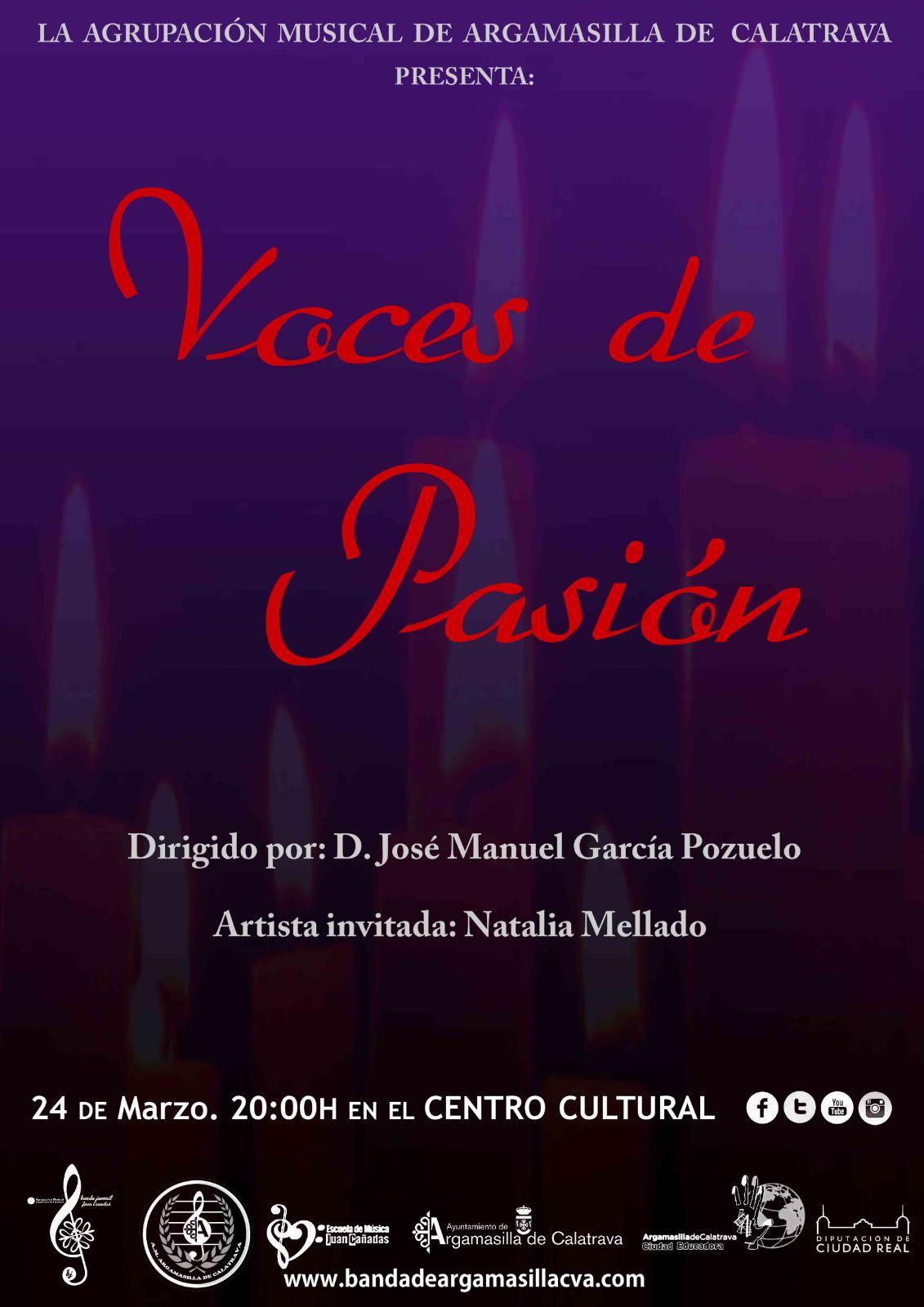 Natalia Mellado sumará su voz a las notas con que la Agrupación Musical interpretará marchas procesionales con letra