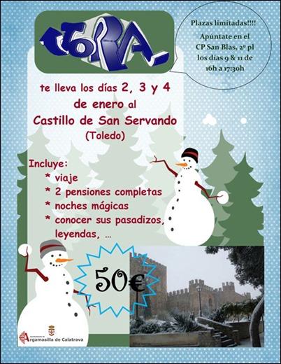 La asociación juvenil JORA de Argamasilla de Calatrava propone iniciar el año con un viaje para disfrutar de los encantos de Toledo