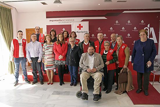 Cruz Roja Española abre delegación en Argamasilla de Calatrava gracias a la cesión de un local por parte del Ayuntamiento