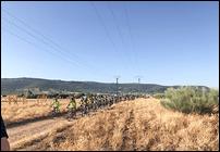 Argamasilla de Calatrava participó activamente en la ruta BTT que busca recuperar como itinerario verde la antigua vía del 'Trenillo'