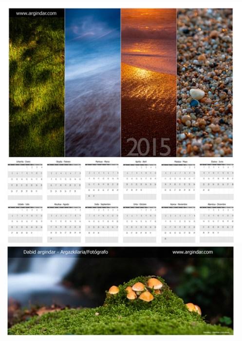 Calendario argindar 2015-