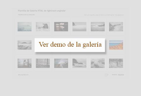 galeria web lightroom-ver demo
