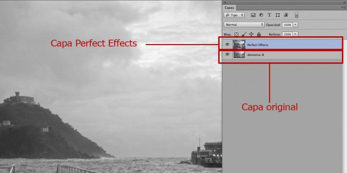 perfect effects-Photoshop