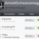 Arnold stated folling me some time back.