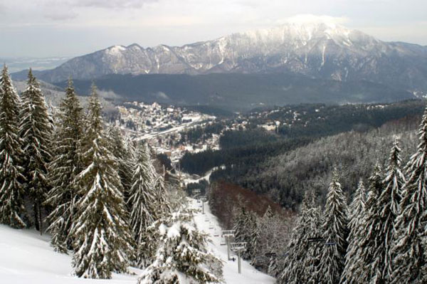 Romanian Carpathian Mountains.