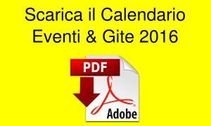 Calendario Gite 2016