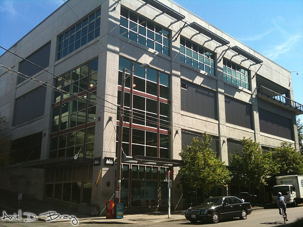 REI Flagship Seattle from the street