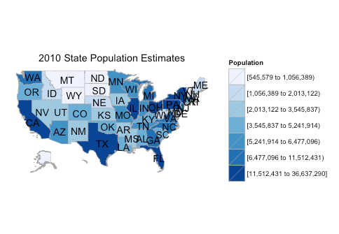 New Lesson: Mapping Historic Census Data in R