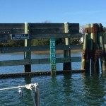 Height, though, is a constant issue. Markers like this one give a live reading according to tide, although, by the time you see the measure, it's getting a little late to abort the mission. Ariose only needs about 38 feet from the water,