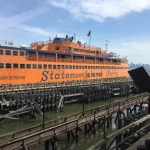 ...the Staten Island ferry to...