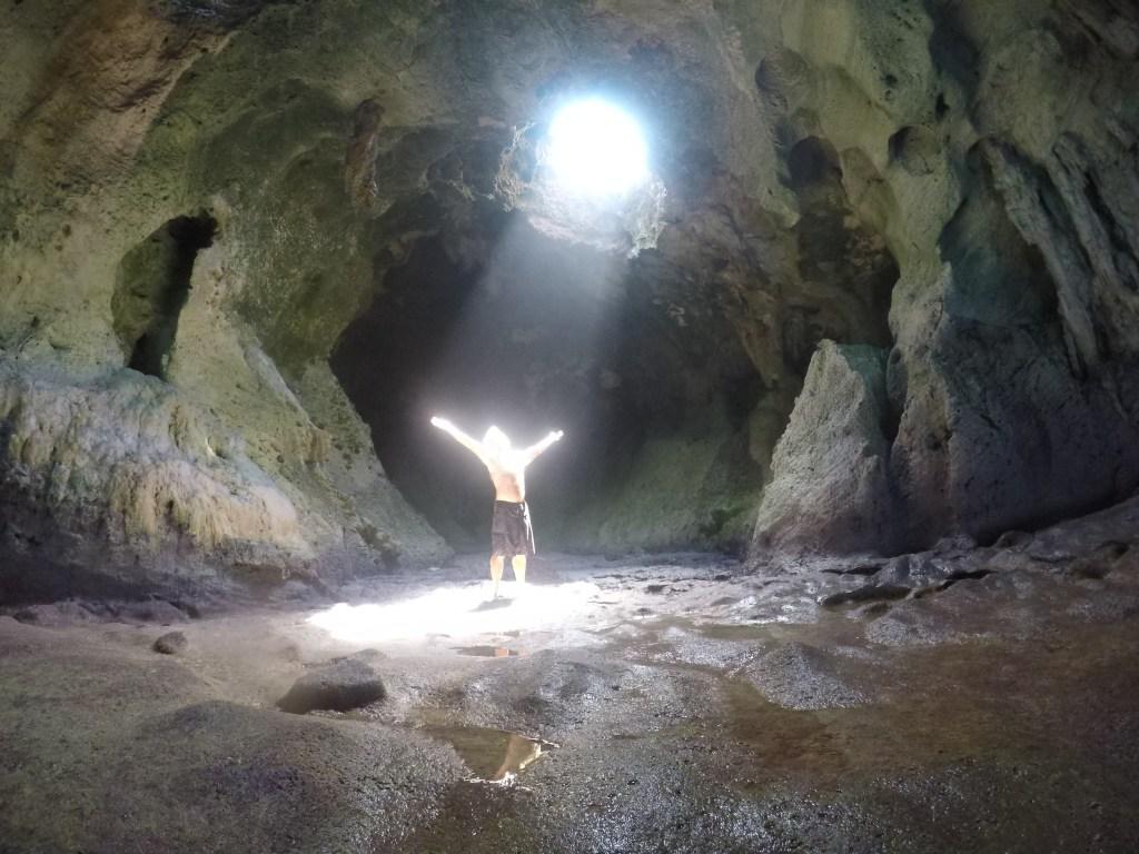 Gratitude (Rocky Dundas caves, Exumas)