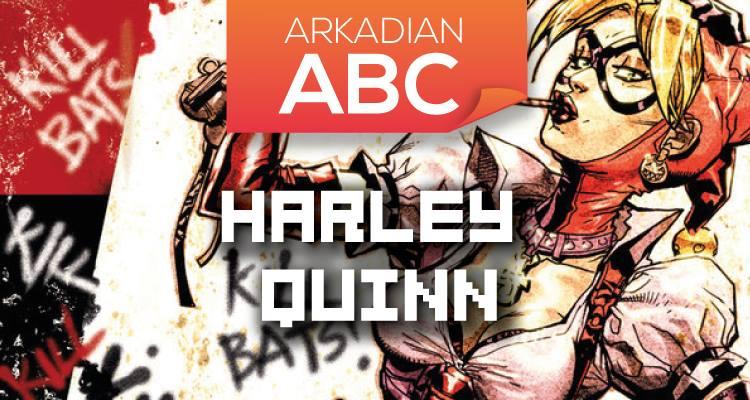 "Arkadian ABC   ""H"" de Harley Quinn"