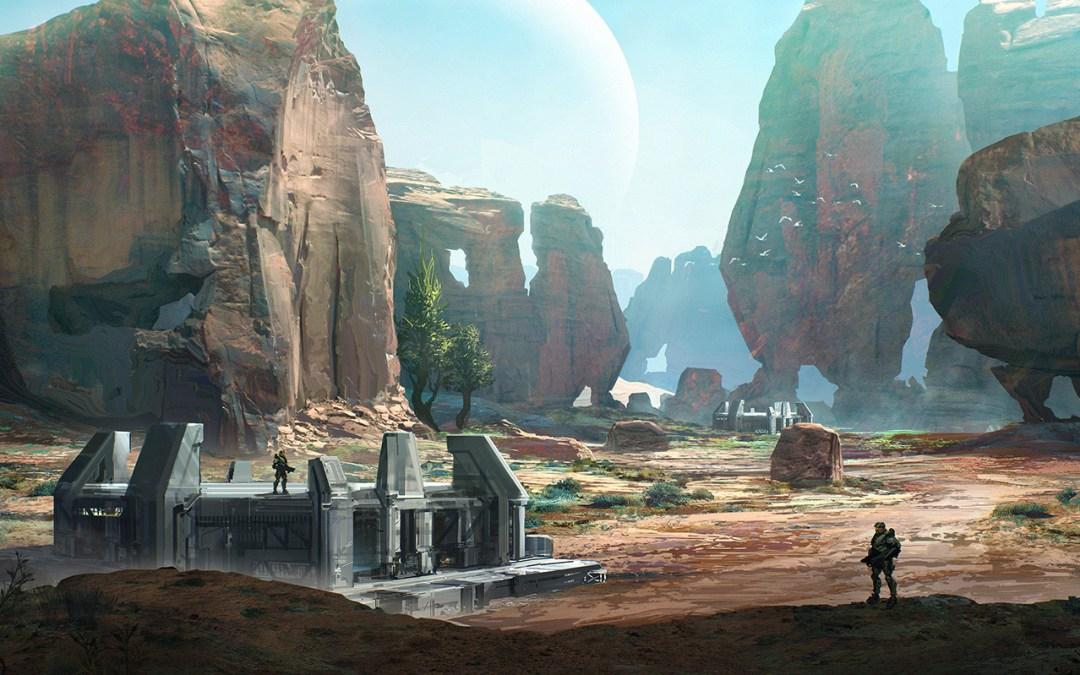 Halo: TMCC  trailer de las terminales y panel de 343 en RTX