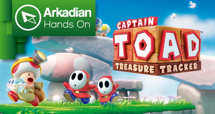 Hands On | Captain Toad: Treasure Tracker