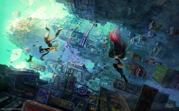 El PlayStation 4 recibirá la secuela de Gravity Rush