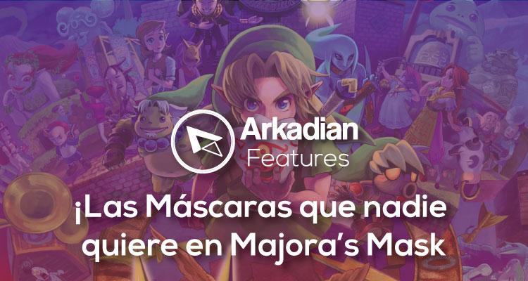 Features| Las máscaras que nadie quiere en Majora's Mask