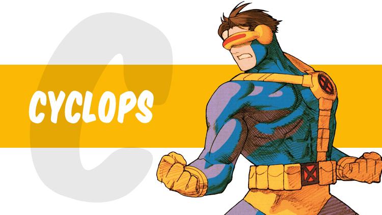 ABC Marvel cyclops