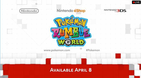 Llega Pokémon Rumble World