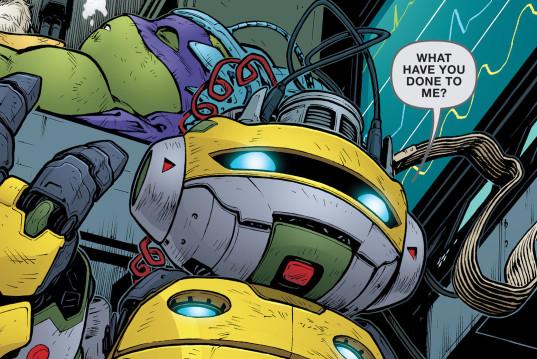 Donatello revive en Tortugas Ninja