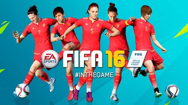 ¡Habrá fútbol femenino en FIFA 16!