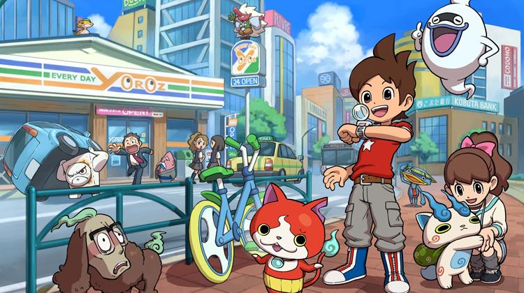 E3 2015 | Mira lo nuevo de Yo-Kai Watch
