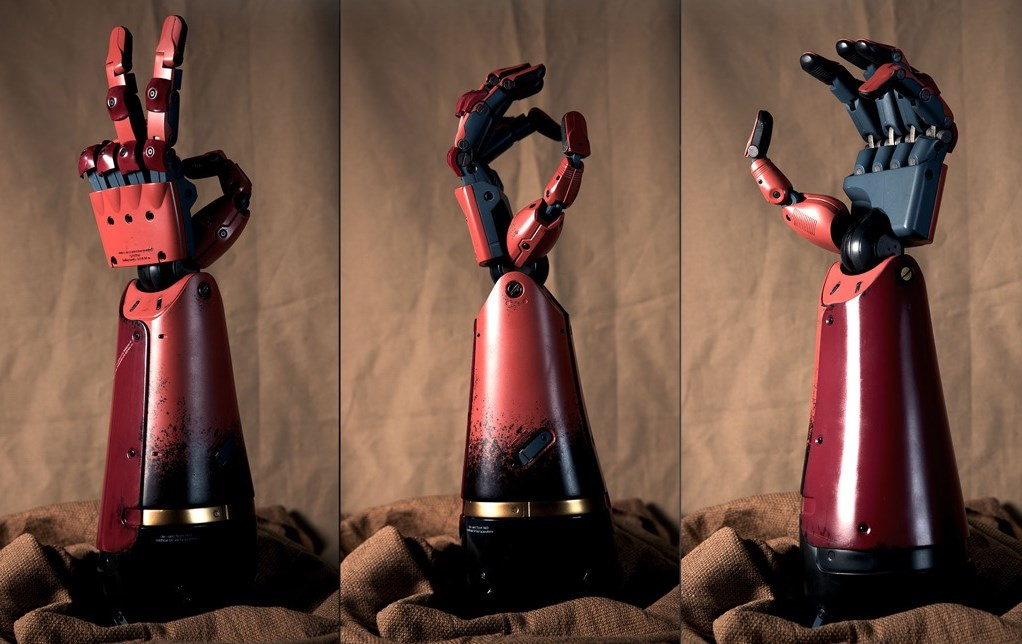 ¡El super brazo bionico de Big Boss!
