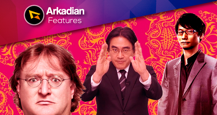 Features | Calaverita de Gabe, Kojima e Iwata