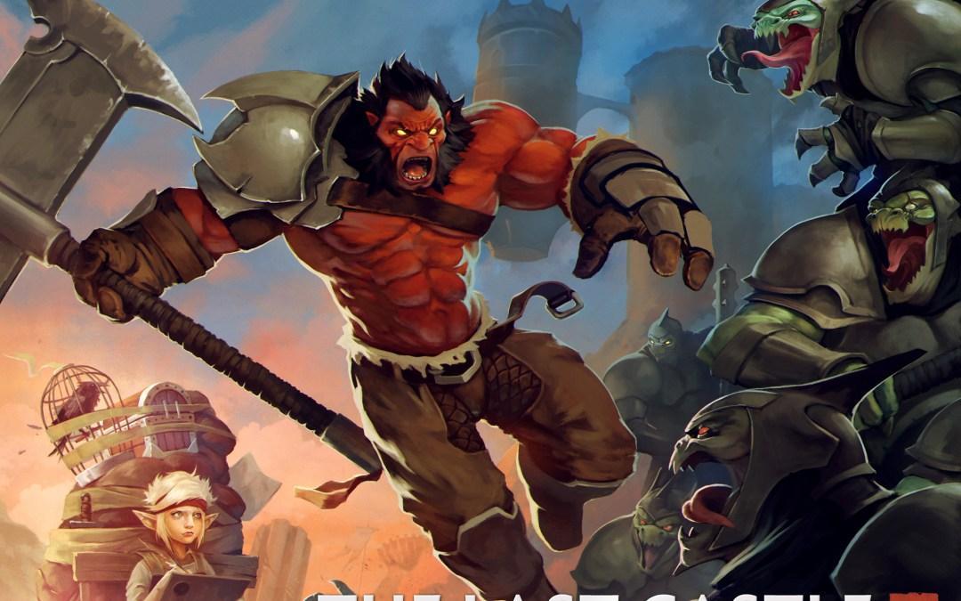 Dota 2: Inmortal de Axe acompañado de un cómic