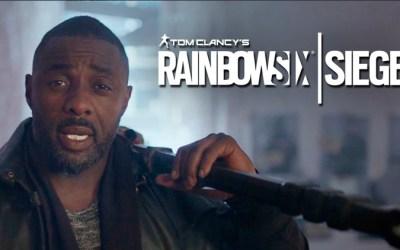 Idris Elba protagoniza un nuevo promocional para Rainbow Six Siege