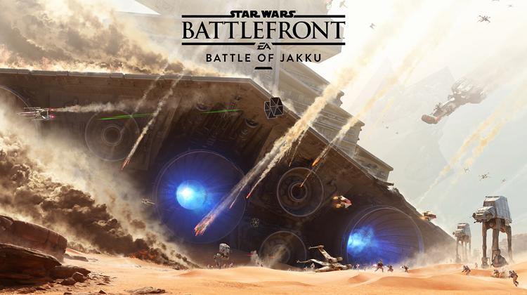 Revive la batalla de Jakku con este primer DLC que saldrá para Star Wars Battlefront