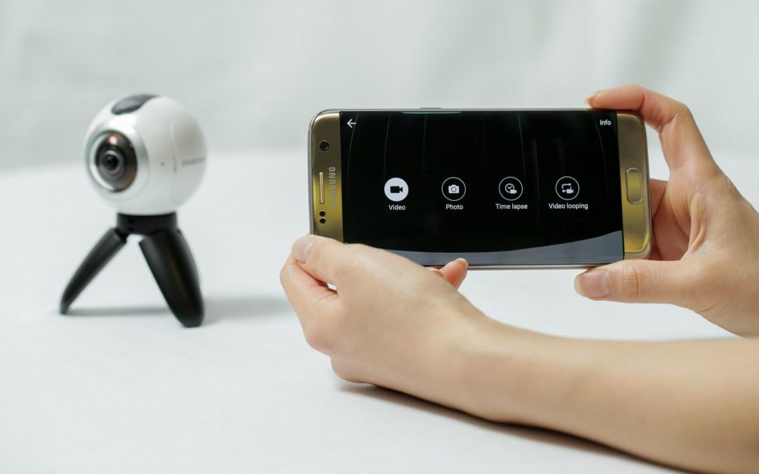 Samsung anuncia su cámara Gear 360