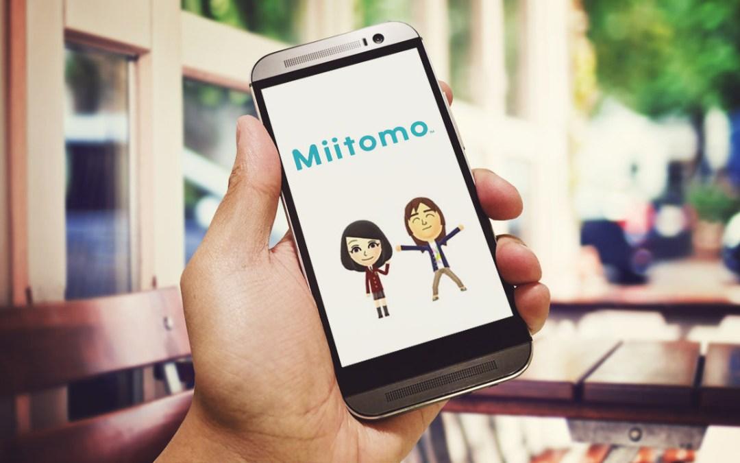Miitomo es usado diariamente por más de 1 millón de personas