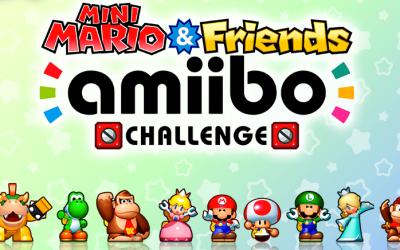 Mini Mario & Friends: Amiibo Challenge ya tiene sitio oficial
