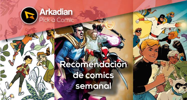 Pick a Comic – Cómics recomendados del 18 de Mayo